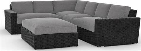 toja patio furniture turo  piece outdoor sectional sofa