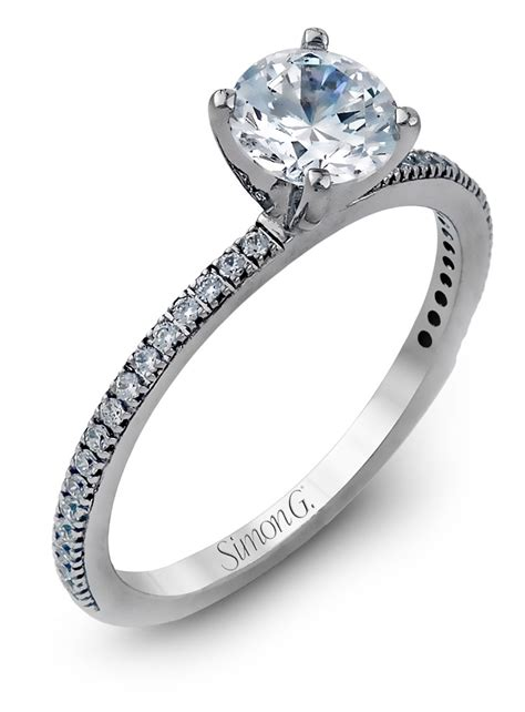 simon g simple thin engagement ring pr108 arden jewelers