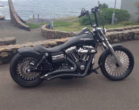 Kaos Bigsize Harley 123 custom harley davidson bob luxury vehicle for sale in marrickville australia