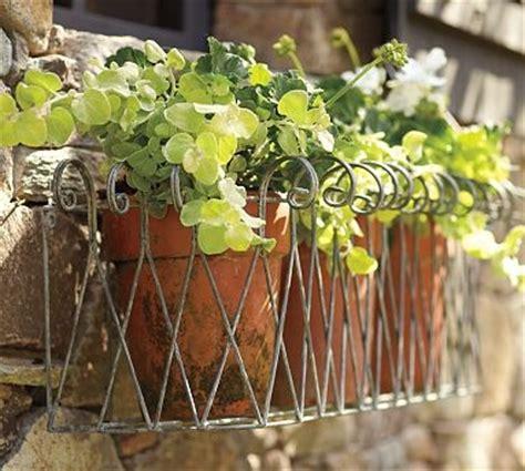 Wire Window Box Planter by Best 25 Window Planters Ideas On