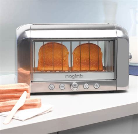 Magimix Toaster Magimix Vision Toaster Chrome 11538 Newformsdesign