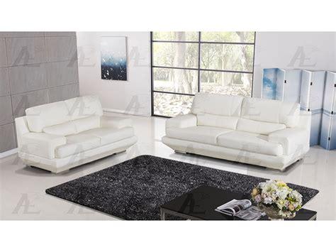 white genuine leather sofa white genuine leather sofa set shop for affordable home