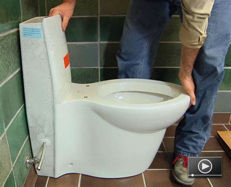 how to install a toilet buildipedia