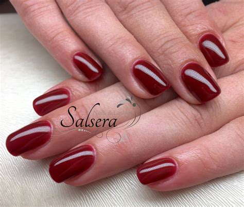 Nägel Rot Lackieren Tipps by Nails N 228 Gel Nageldesign Sch 246 Ne N 228 Gel Fullcover Rot Red