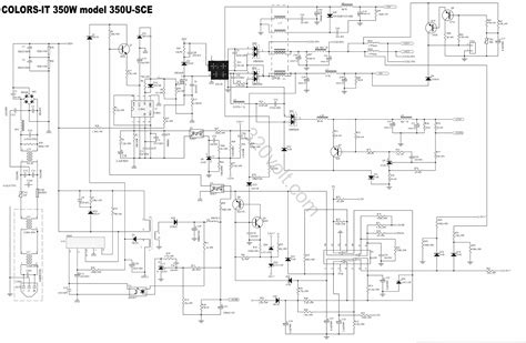 atx 450w smps circuit diagram atx smps power supply circuit diagram the best wiring