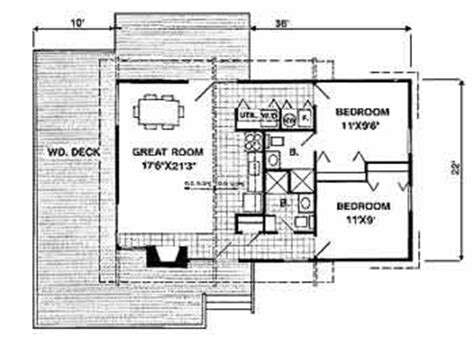 home floor plans with mother in law quarters small cabin floor plan would make a fabulous guest house