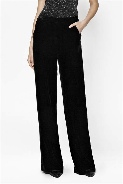 Velvet Trousers by Jet Velvet Palazzo Trousers Collections Connection