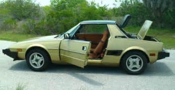 1980 Fiat X19 1980 Fiat X1 9 Classic Italian Cars For Sale
