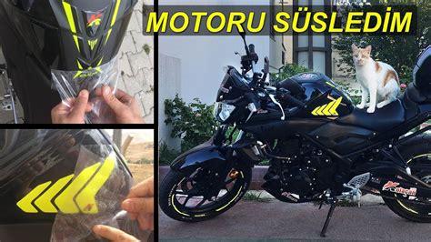 motorumu modifiye ettim motosiklet aksesuar ueruenleri