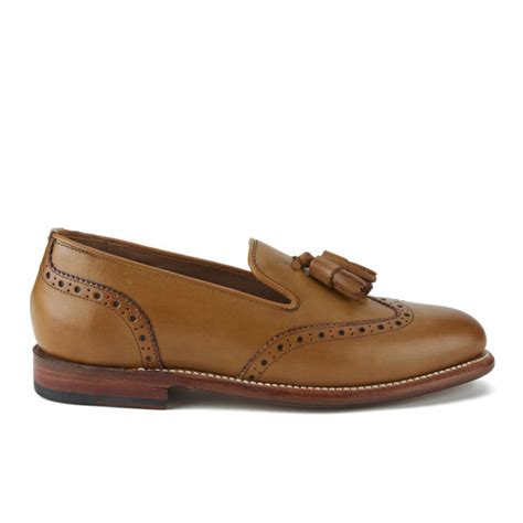 womens leather loafers uk grenson s leather tassel loafers free