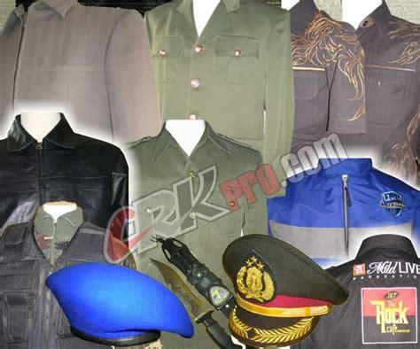 Emblem Baju Baret Polri konveksi dan tailor penjahit baju pakaian seragam pdh