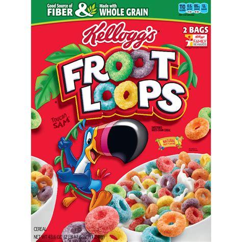 fruit loops kellogg s froot loops 2 pk 21 8 oz bj s wholesale club