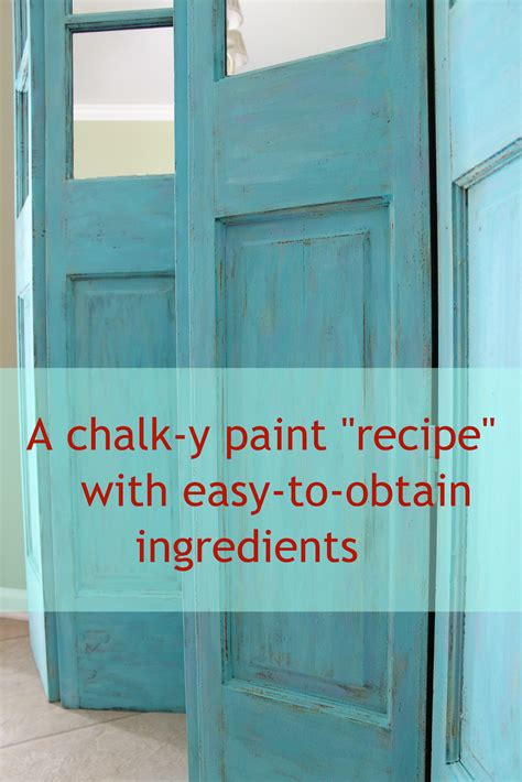 diy for chalk paint miss kopy a chalk recipe to try