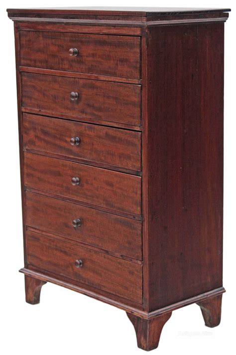 Small Antique Chest Of Drawers by Small Mahogany Chest Of Drawers Antiques Atlas