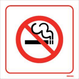 bar equipment no smoking signs adhesive no smoking white self adhesive no smoking sign discount fire supplies