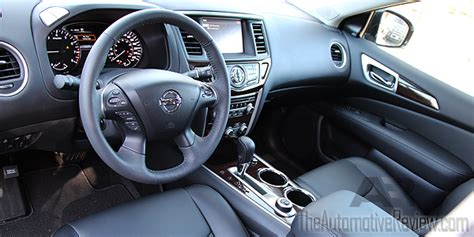 nissan pathfinder 2016 interior 2016 nissan pathfinder review the automotive review