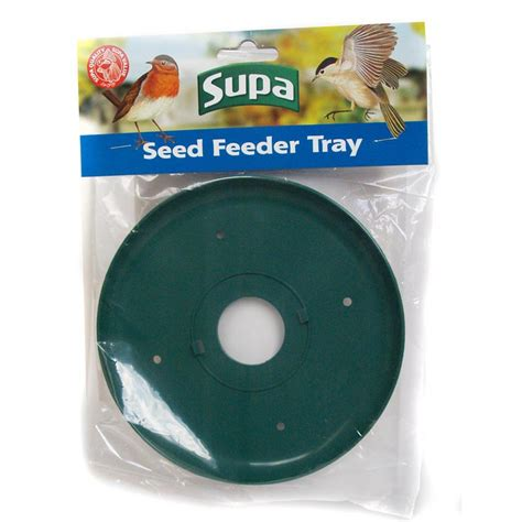 supa wild bird seed and peanut feeder tray ebay