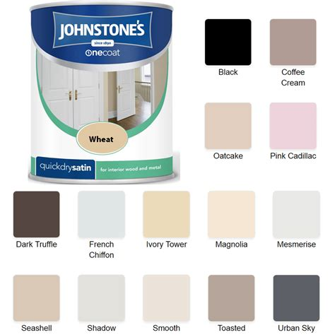 chalk paint johnstones johnstones one coat satin 750ml wood metal