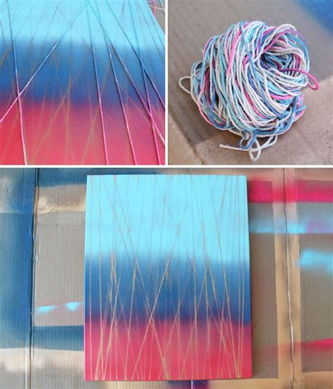 String Canvas - 20 easy diy projects for your walls