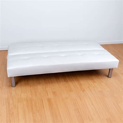 sofa blanco polipiel sof 225 polipiel blanco muebles baratos online