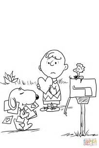 charlie brown happy thanksgiving day coloring pages