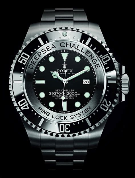 rolex dive watches rolex deepsea challenge can dive to 12 000 meters