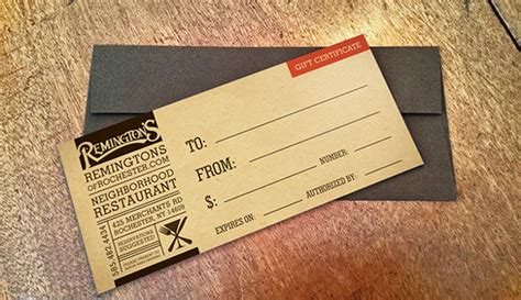 templates for restaurant gift certificates 20 restaurant gift certificate templates free sle