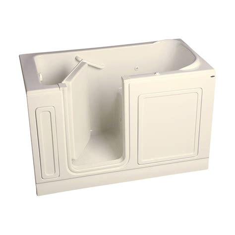 american standard acrylic bathtubs american standard acrylic standard series 60 in x 32 in walk in whirlpool tub in