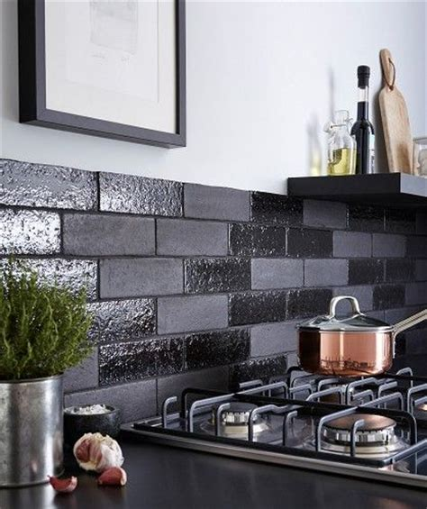 gloss kitchen tile ideas aaronson gloss black tile walls colors black tiles and tile