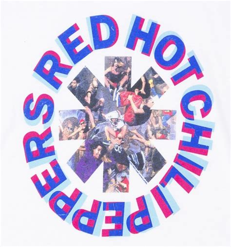 Delwyn Print Rhcp Chili Peppers Size S To L s white chili peppers styley t shirt