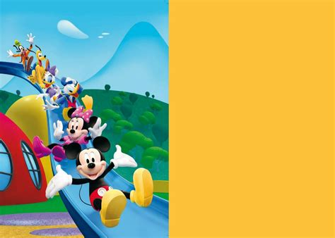 mickey mouse clubhouse templates how to make mickey mouse clubhouse digital invitation step