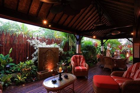 bali style deck bali style home balinese garden bali