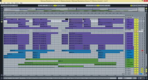 ableton live trance template by mystery islands myloops