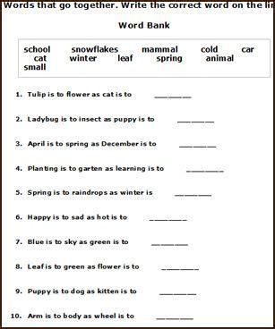 free printable english worksheets on grammar free printable spring english worksheets for young