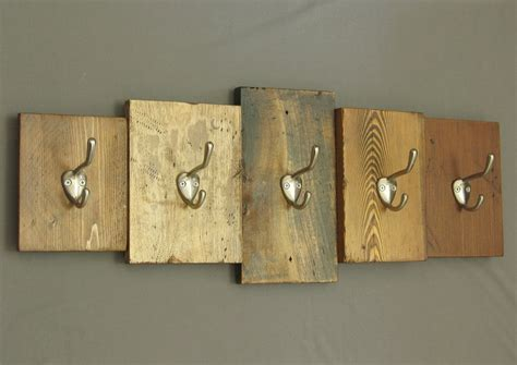 wall mounted key wooden rustic wooden coat rack reclaimed wood cabin decor wall