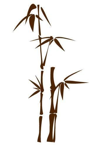japanese bamboo tattoo designs bamboo wall decal 4 drawings bamboo wall