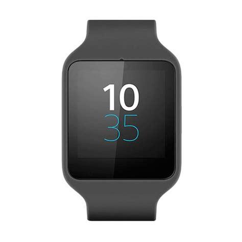 Sony Swr50 Smartwatch 3 Hitam jual sony swr50 3 hitam smartwatch rubber