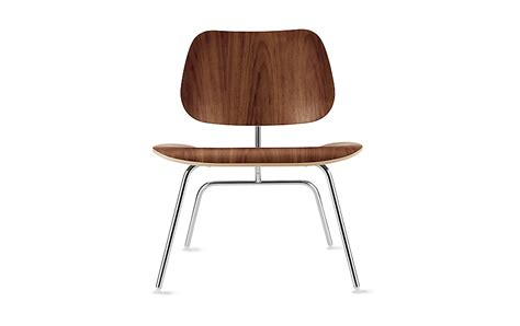 Eames Molded Plywood Lounge Chair by Eames Molded Plywood Lounge Chair With Metal Base Herman