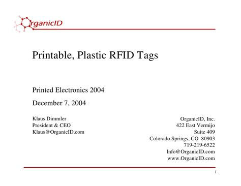 printable rfid stickers printable plastic rfid tags
