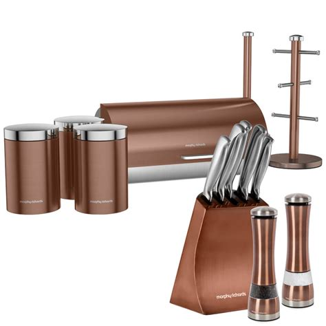 Copper Kitchen Knife morphy richards electronic salt and pepper mill 5