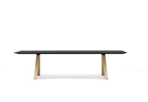 on table arki table by pedrali stylepark