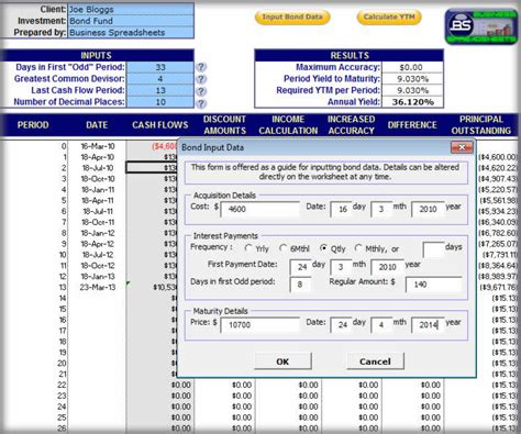 calculator yield filegets bond yield calculator screenshot the bond