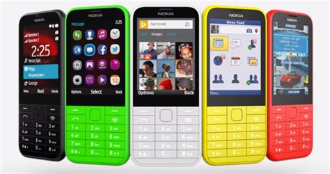 Hp Nokia Feature Phone nokia 225 un nouveau t 233 l 233 phone 224 petit budget dual sim en option