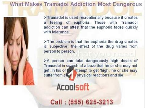 Detox Tramadol Symptoms by Tramadol Addiction