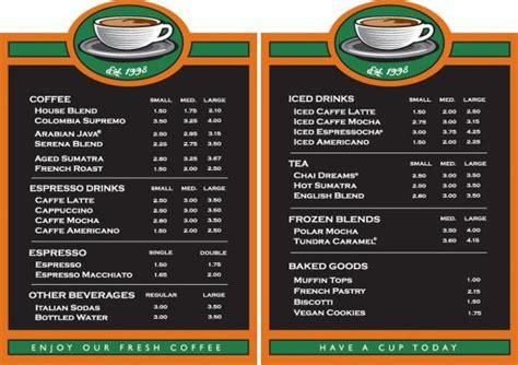 home menu board design coffee menu boards on air design graphic design and