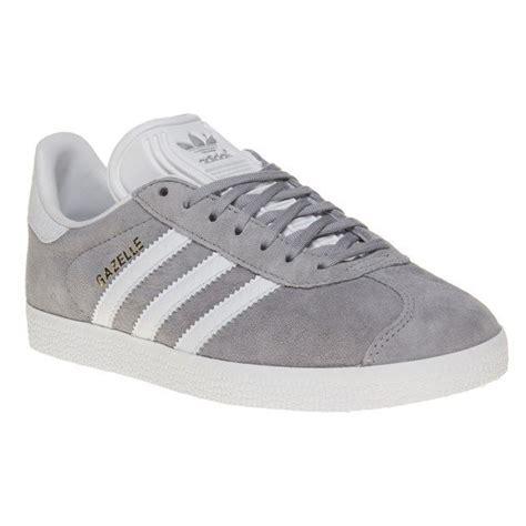Adidas Gazelle Suede Grey new womens adidas grey gazelle suede trainers animal lace