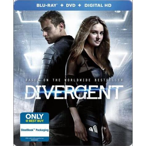 Steelbook Divergent Best Buy new divergent steelbook dvd cover and extras