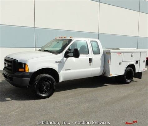 books on how cars work 2006 ford f350 electronic valve timing find used 2006 ford f350 xl 4x4 utility pickup truck work utility boxes 6 0l diesel in rialto