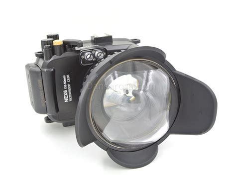 Meikon Waterproof For Sony Nex 6 Hitam G6q7 40m meikon sony nex6 underwater housing waterproof 16