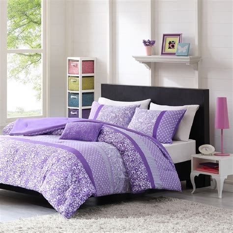 lavender comforters ease bedding with style